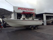 Boston whaler Outrage 24